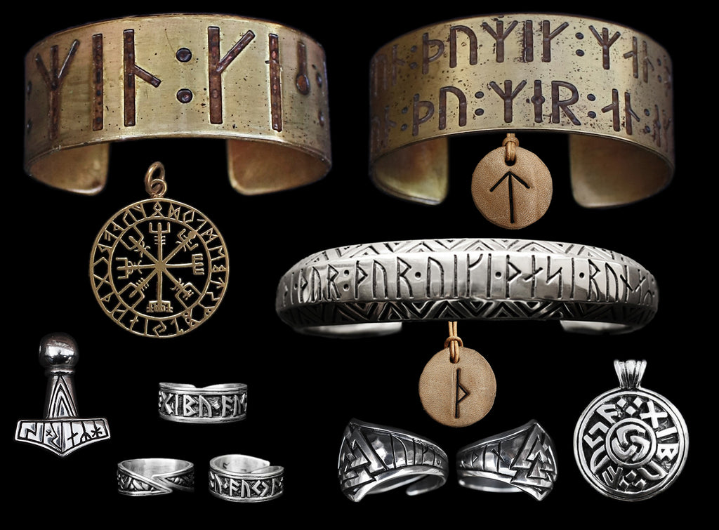 Runic Viking Jewelry from The Viking Dragon