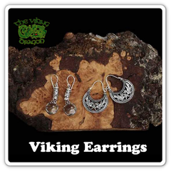 Viking Earrings - Viking Jewelry