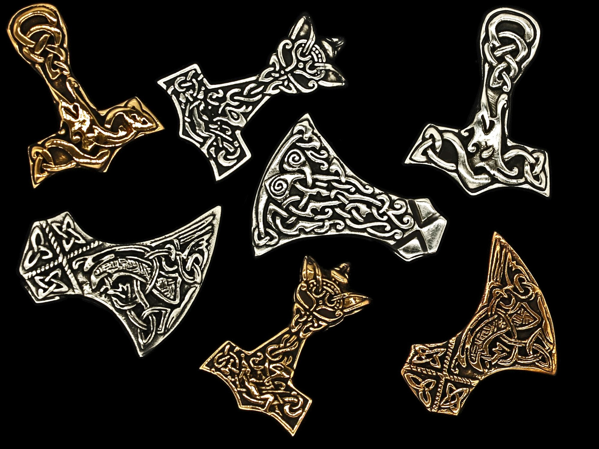 Viking Inspired Pendants Designed by Kai Uwe Faust