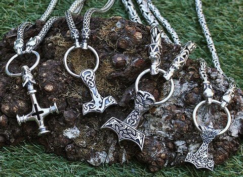 Thor's Hammer Necklaces