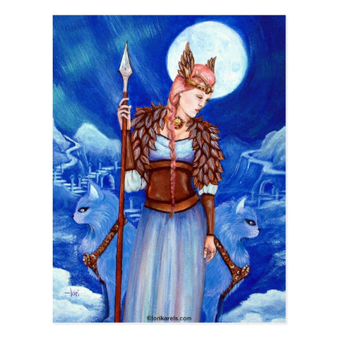 Freya - The Goddess of Love & Fertility - Viking Dragon Blogs