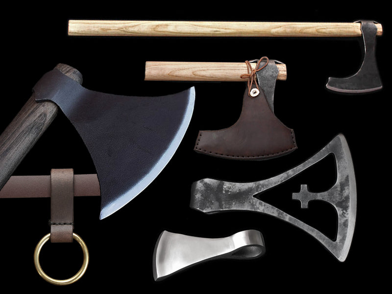 Replica Viking Axes - Viking Re-Enactment Weapons