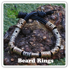 Viking Beard Rings / Beard Beads - Viking Jewelry