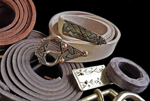 Handmade Viking Belts from The Viking Dragon - Viking Costume