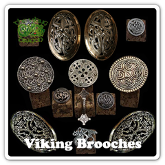 Viking Brooches - Viking Jewelry