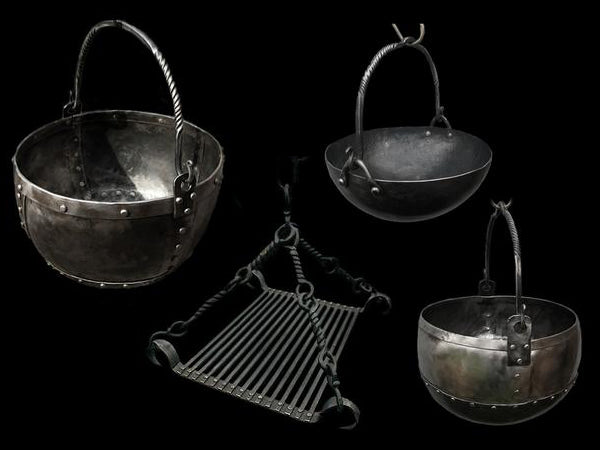 Hand-Forged Cauldrons & Grills From The Viking Dragon