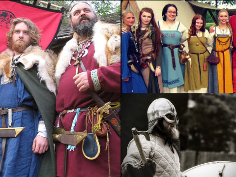 Re-enactment Viking Costume for Men & Women by The Viking Dragon