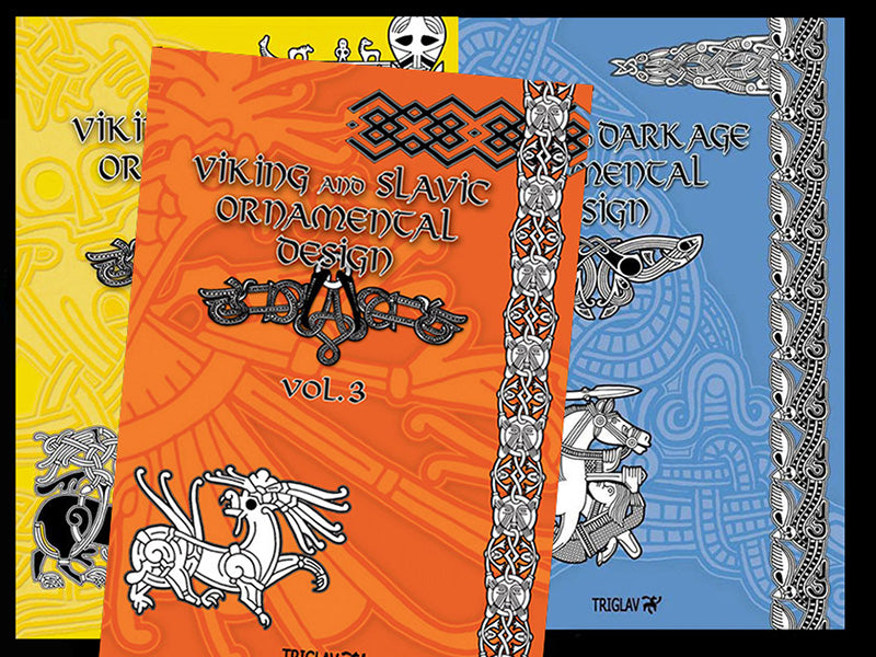 Viking Design & Tattoo Books - Viking Books