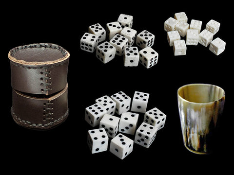 Viking Bone Dice & Viking Dice Games - Viking Games