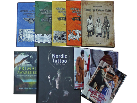 Hand-Picked Books Available At The Viking Dragon