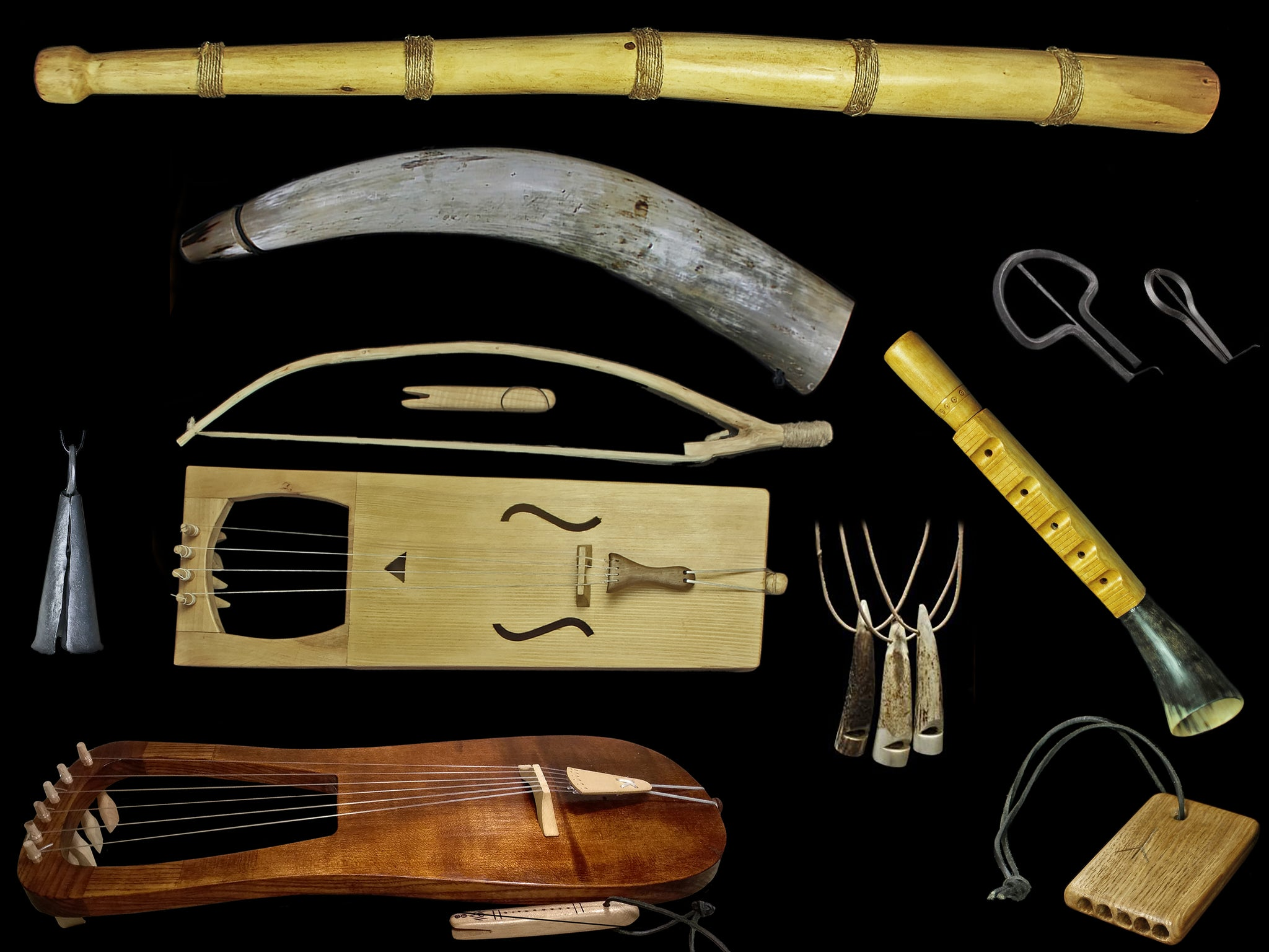 Collection: Viking Musical Instruments