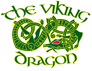 The Viking Dragon Logo
