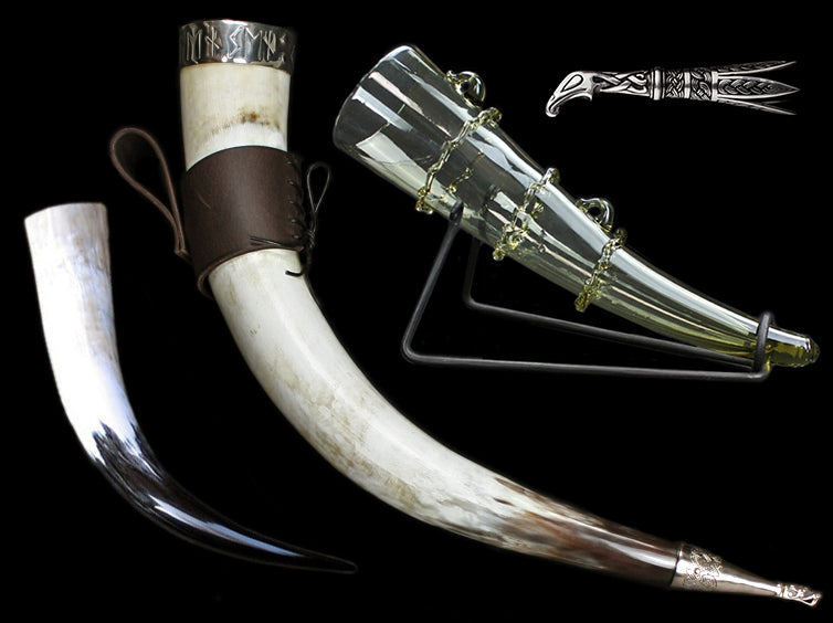 Viking Drinking Horns & Fittings - Viking Feasting Supplies