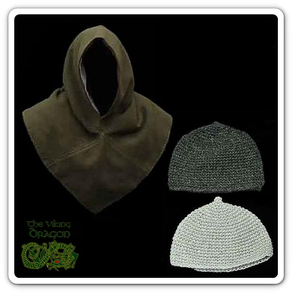 Wool Viking Hats & Hedeby Hoods From The Viking Dragon