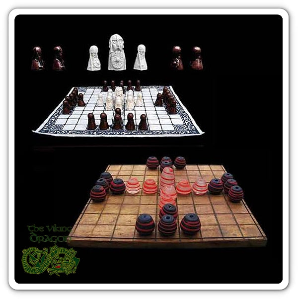 Viking Hnefatafl / Kings Table From The Viking Dragon