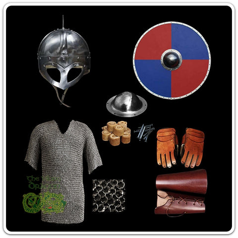 Viking Re-enactment Protection Gear From The Viking Dragon