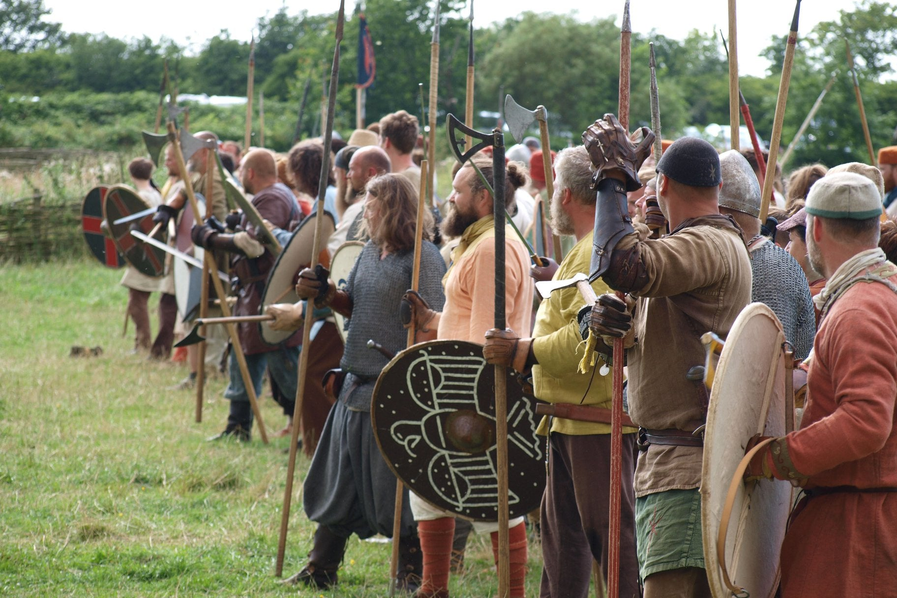 Viking Warriors at Ribe - Denmark