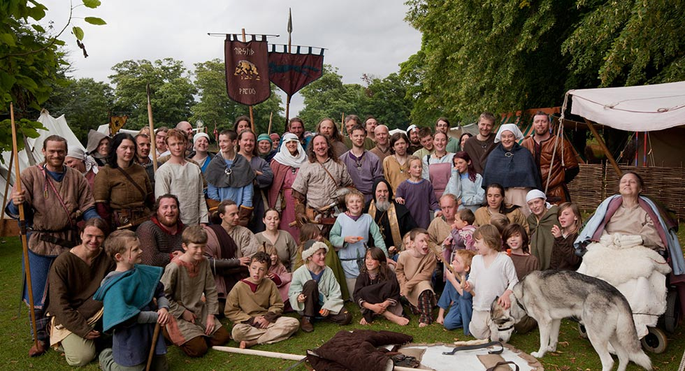 Vikings of Middle England at Rockingham Castle 2020 - UK