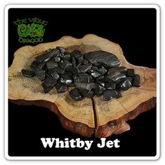 Raw Whitby Jet for Jewelry Making - Viking Jewelry