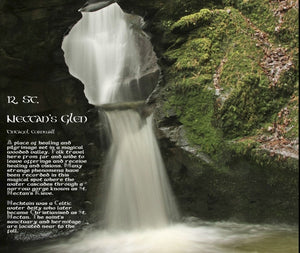 Magical Places Of Britain Book - St Nectan's Glen - Viking Dragon Books
