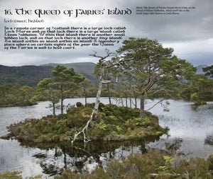 Magical Places Of Britain Book - The Queen of Fairies Island - Viking Dragon Books