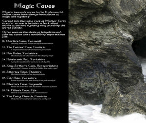 Magical Places Of Britain Book - Magic Caves List - Viking Dragon Books