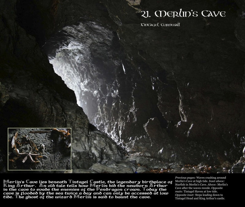 Magical Places Of Britain Book - Merlin's Cave - Viking Dragon Books