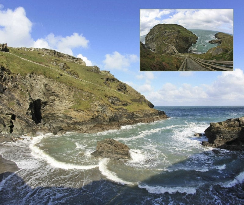 Magical Places Of Britain Book - The View to Merlin's Cave - Viking Dragon Books