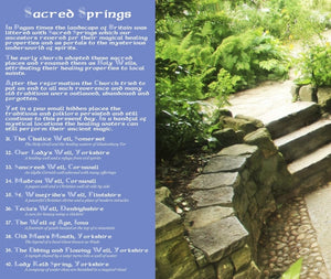 Magical Places Of Britain Book - Sacred Springs - Viking Dragon Books