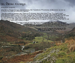 Magical Places Of Britain Book - Dinas Emrys - Viking Dragon Books