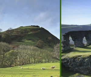 Magical Places Of Britain Book - Castle Dinas - Viking Dragon Books