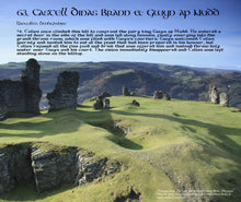 Load image into Gallery viewer, Magical Places Of Britain Book - Castle Dinas Brann & Gwyn Ap Nudd - Viking Dragon Books