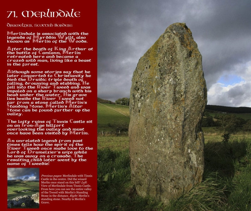 Magical Places Of Britain Book - Merlindale - Viking Dragon Books