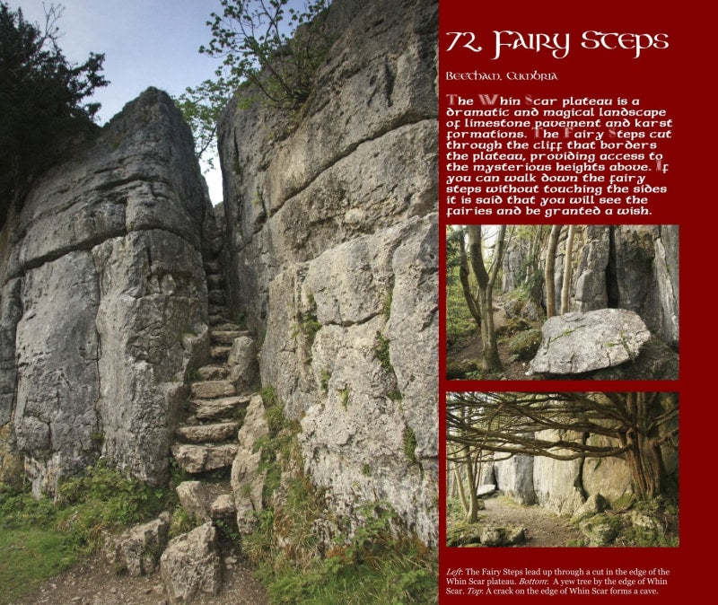 Magical Places Of Britain Book - Fairy Steps - Viking Dragon Books