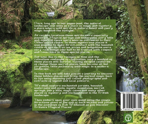 Magical Places Of Britain Book - Back Cover - Viking Dragon Books