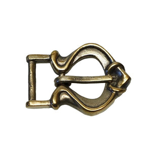 Rus Viking Brass Buckle 2 - Belts & Fittings