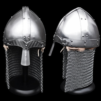 10th century replica Norman / Wenceslas Re-Enactment Helmet - Viking Warrior Protection