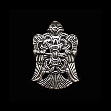 Load image into Gallery viewer, Silver Replica Loki Viking Pendant - Viking Jewelry