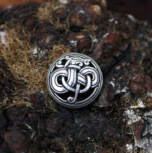 Viking Urnes Dragon Brooch - Viking Brooches