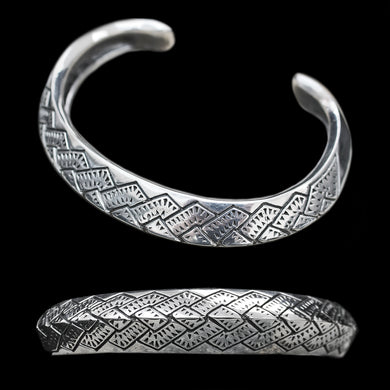 Silver Viking Axe Arm Ring