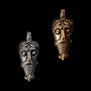 Danish Viking God Mask Pendant - Viking Pendants