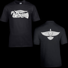 Load image into Gallery viewer, Viking Raven T-Shirt - Modern Viking Clothing