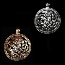 Load image into Gallery viewer, Jelling Dragon Pendant - Viking Pendants