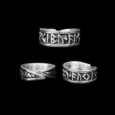 Silver Viking Rune Ring - Viking Rings