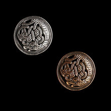Load image into Gallery viewer, Gripping Beast Disc Brooch - Viking Brooches