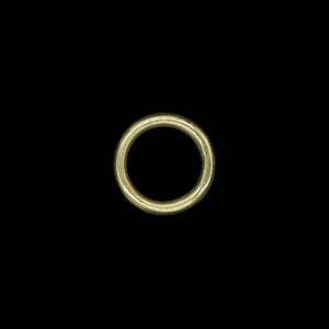 25mm Plain Brass O Ring for Reenactment Belts