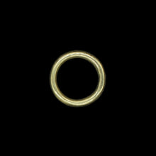 Load image into Gallery viewer, 30mm Plain Brass O Ring for Reenactment Belts