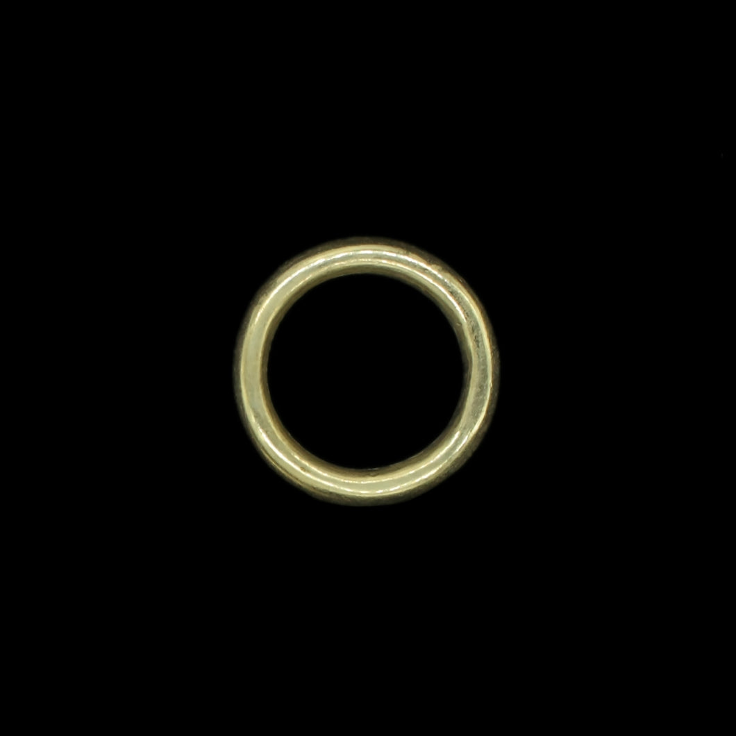 30mm Plain Brass O Ring for Reenactment Belts