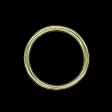 Load image into Gallery viewer, 50mm Plain Brass O Ring for Reenactment Belts / Axe Hangers