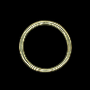 50mm Plain Brass O Ring for Reenactment Belts / Axe Hangers